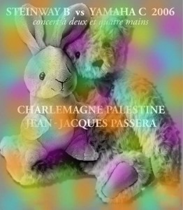 Concert Charlemagne Palestine Jean-Jacques Passera
